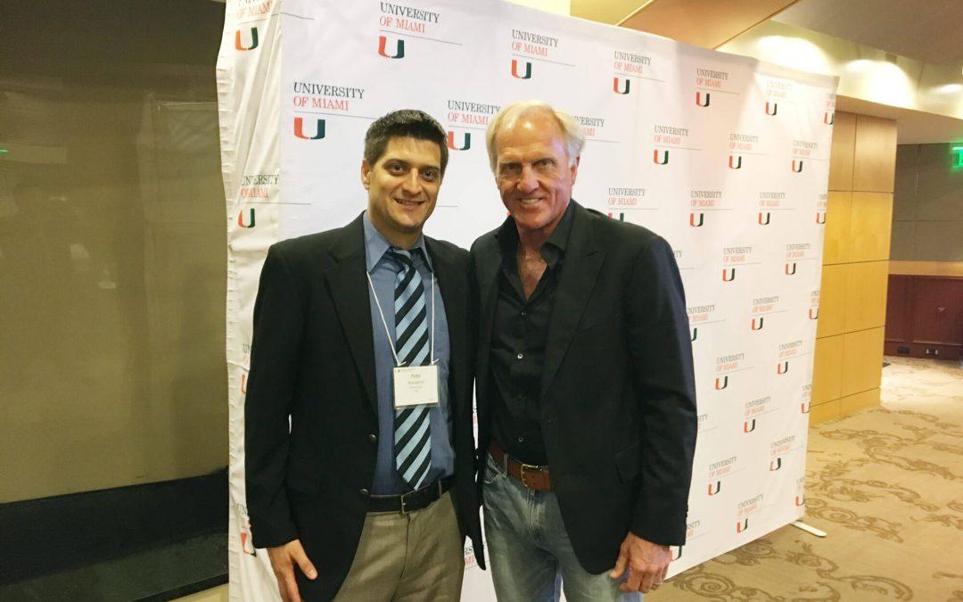 Greg Norman's Entrepreneur Search